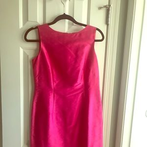 Talbots silk dress